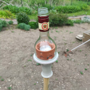 Flaschenfackel
